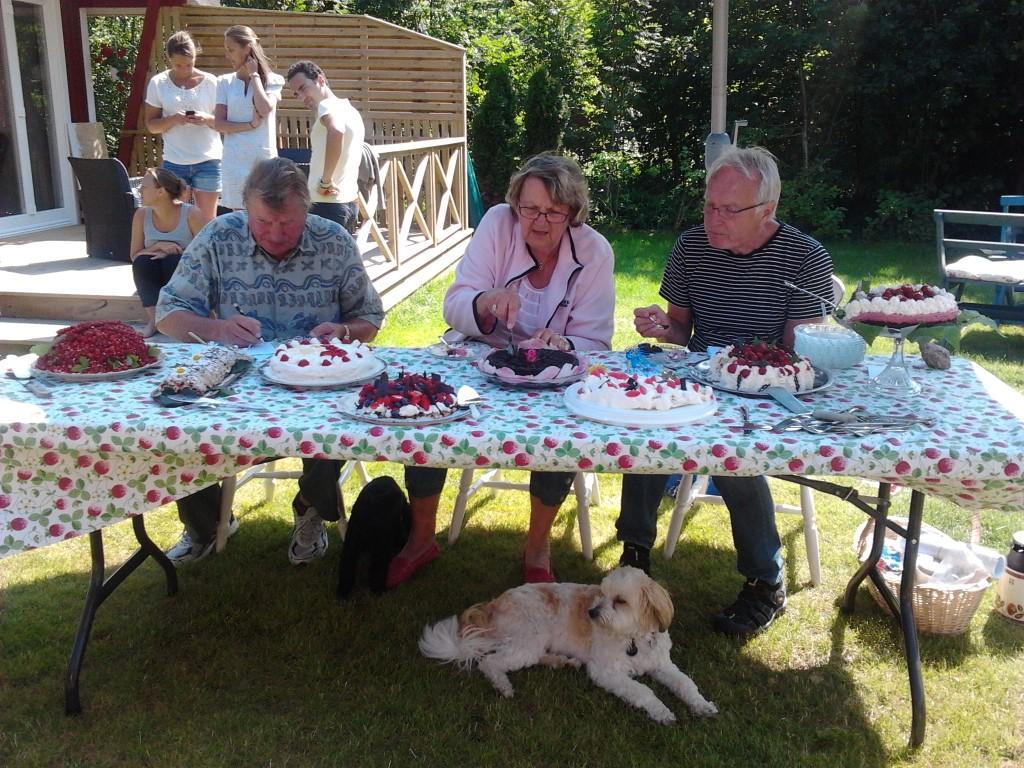 Rangarnö tårtkalasjury 11 juli 2013