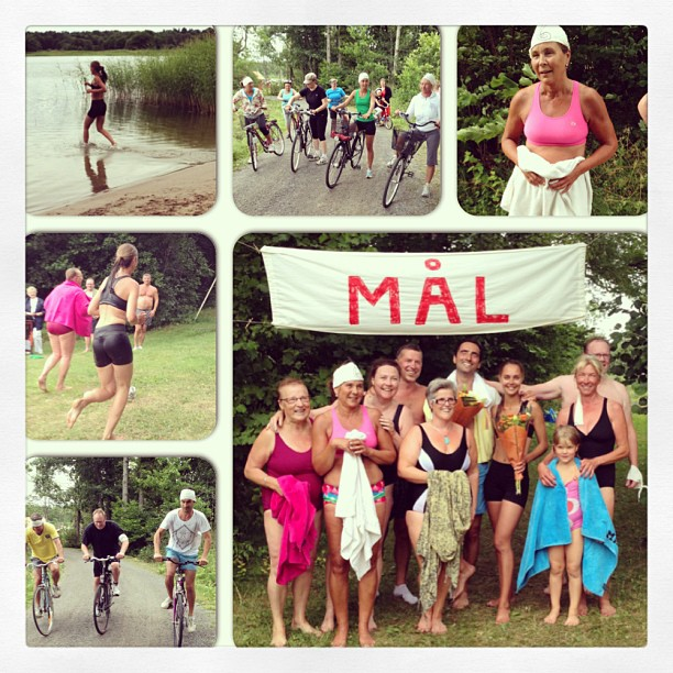 2013-07-20 Byns triathlon - vinnare Emelie o Fadi