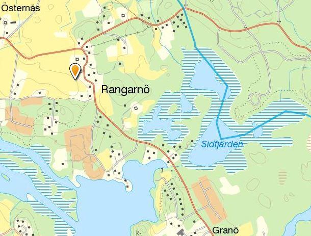 Karta Rangarnö
